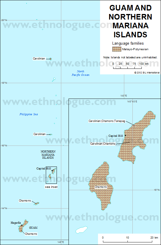 Guam and Northern Mariana Islands | Ethnologue
