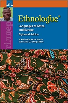 Ethnologue 18th edition Africa and Europe volume front cover