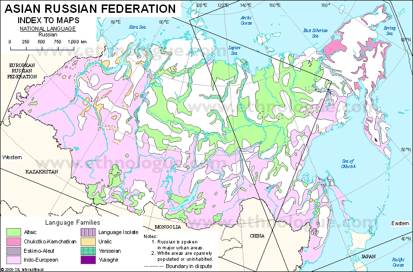 Map Of Russia In Russian.Language Maps Of Russian Federation Asia