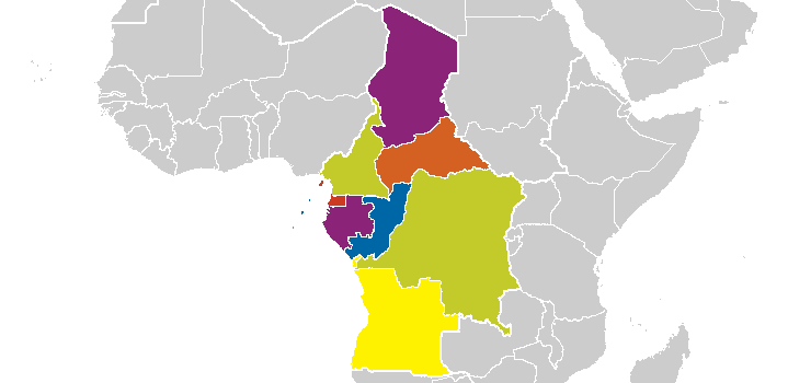 Middle Africa Map Middle Africa | Ethnologue