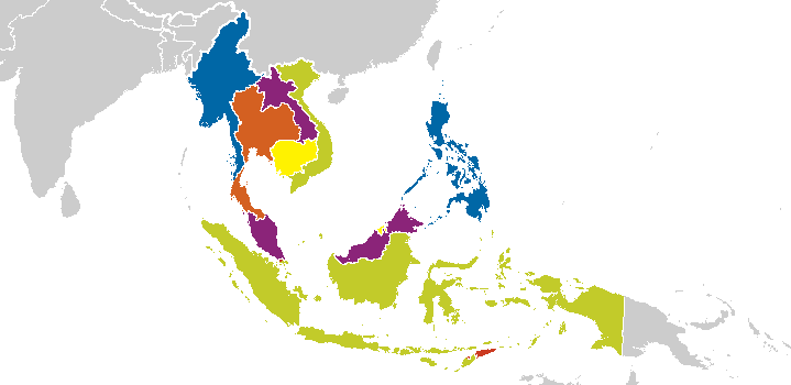 south eastern asia