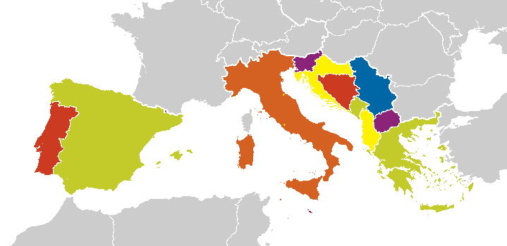 Southern Europe | Ethnologue