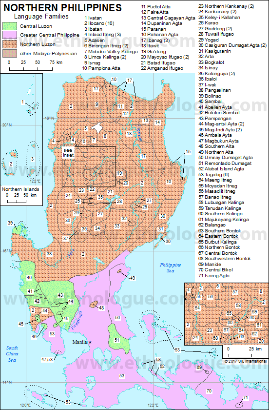 Philippines Maps Ethnologue - Maps philippines