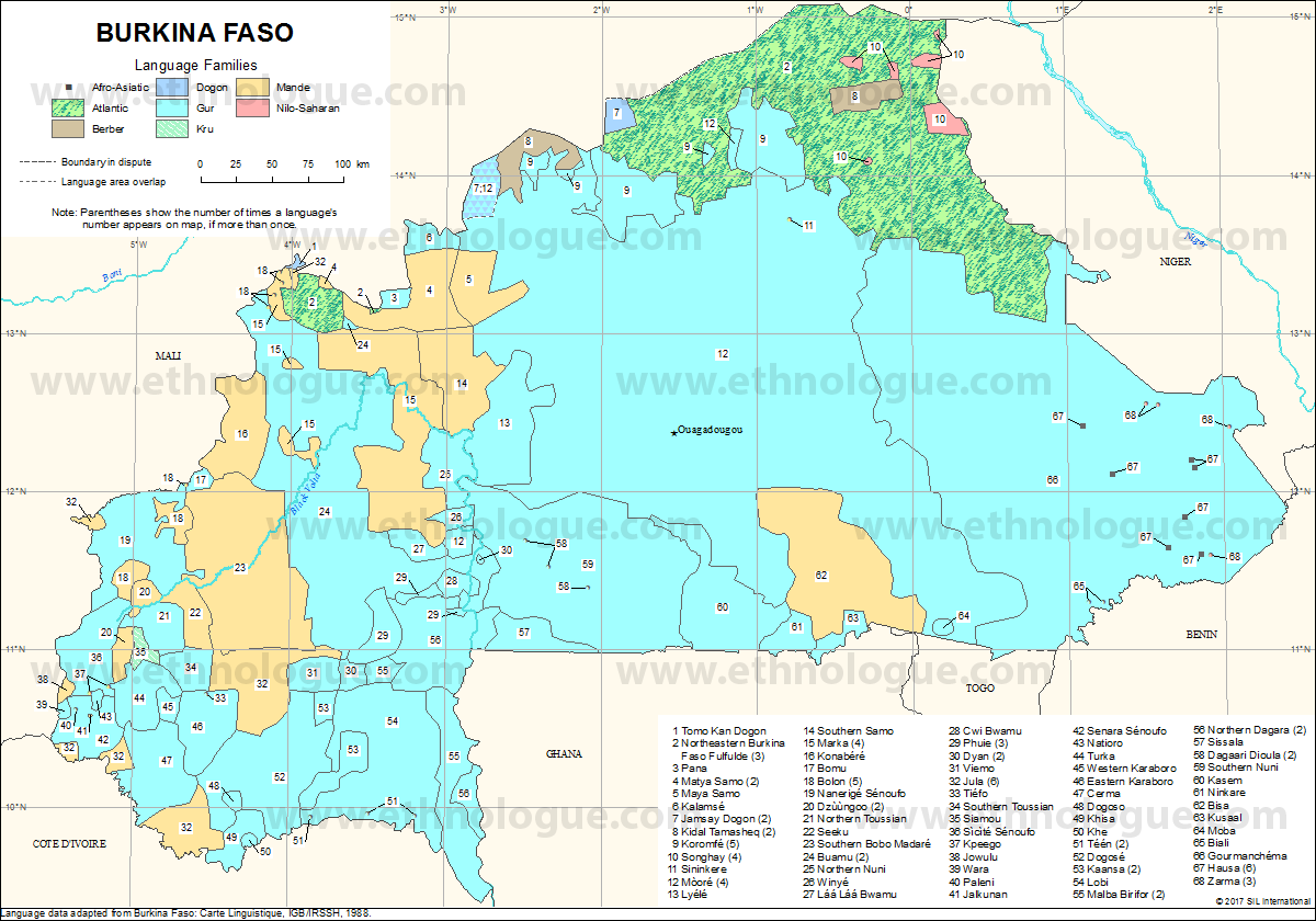 Burkina Faso | Ethnologue
