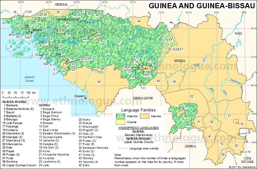 Guinea and GuineaBissau Ethnologue