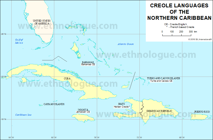 Creole Languages of the Northern Caribbean | Ethnologue