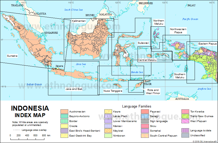 Indonesia Thailand Map.Indonesia Index Map Ethnologue