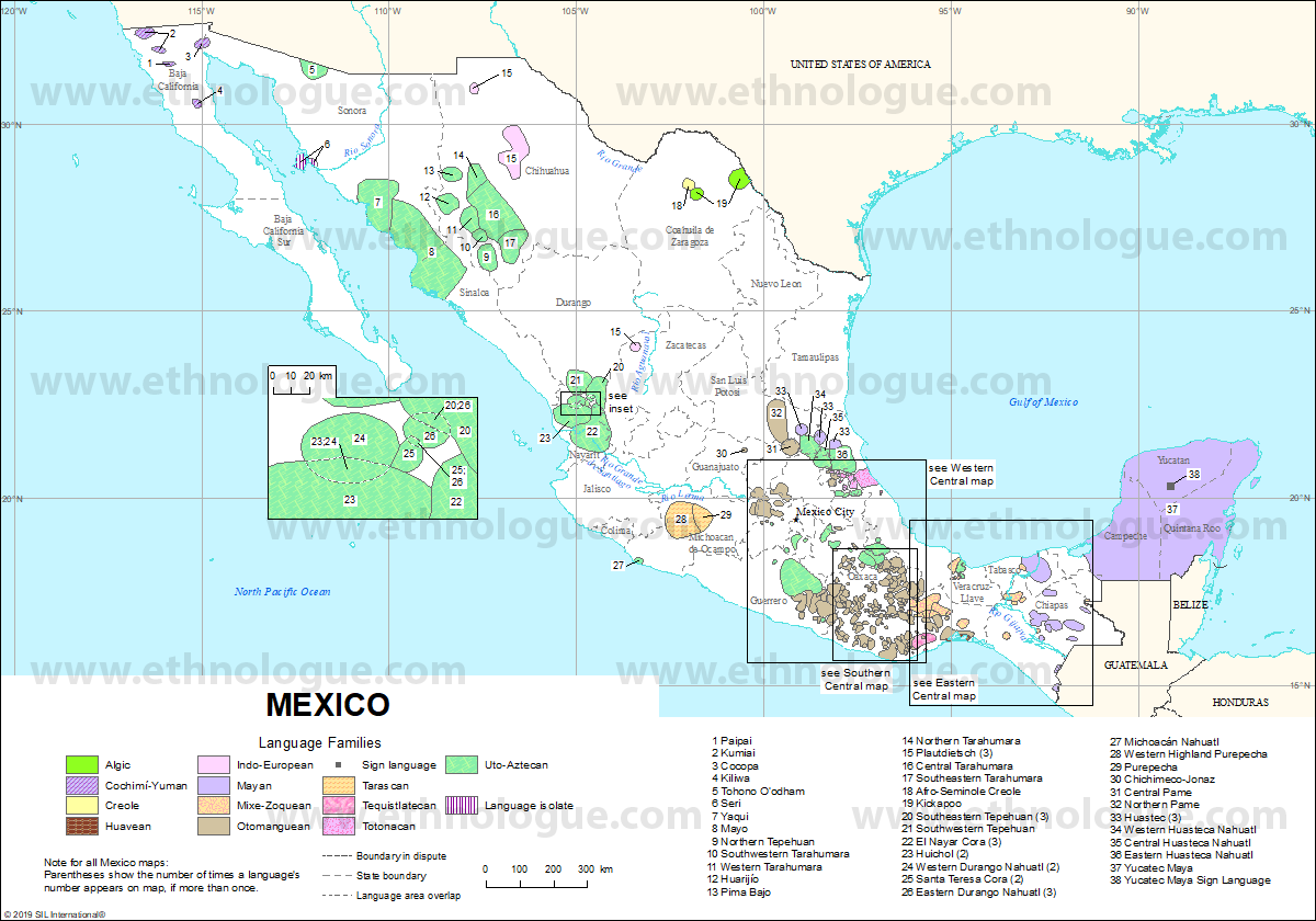 Mexico Ethnologue