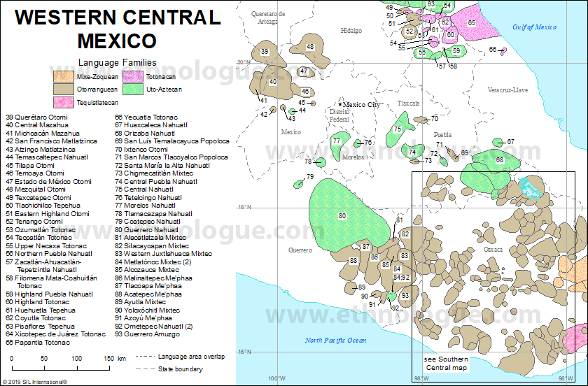 Western Central Mexico | Ethnologue